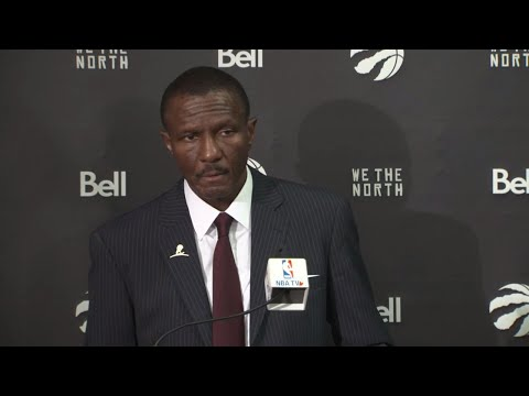Video: Dwane Casey confident starters scoring will go up