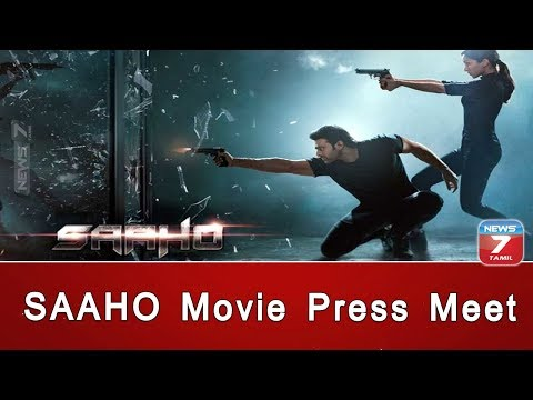 SAAHO Movie Press Meet | Prabhas | Arun Vijay | Sujeeth | Ghibran
