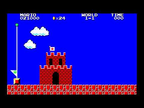 Super Mario Bros. Special (Sharp X1) - 4Mhz--8Mhz Comparison