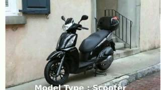 9. 2010 KYMCO People S 250 -  Features Specs