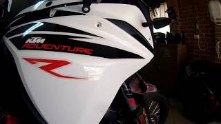 10. KTM 1090 Snorkel filter