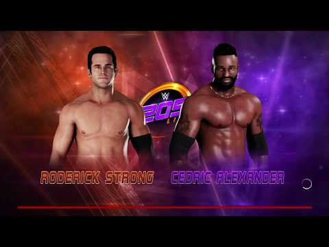 STRONG vs ALEXANDER, Cruiserweight Title Tournament Semifinal: WWE 205 Live, March 13, 2018