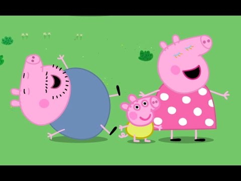 FULL HD - Peppa Pig English Episodes is a lovable, exuberant little piggy who lives with Mummy, Daddy and her little brother, George. Peppa enjoys playing with her best friend, Suzy Sheep, visiting Granny...
