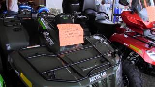 9. 2014 Arctic Cat 500 4x4 ATV EFI Four Wheeler