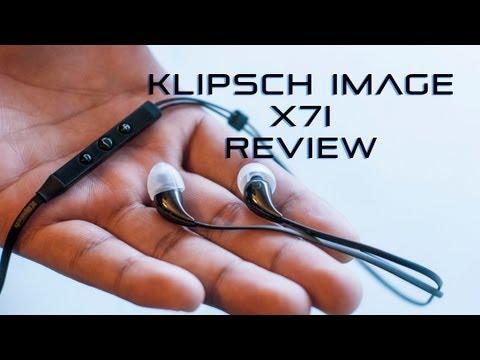 Klipsch X7i In-Ear Headphone Review