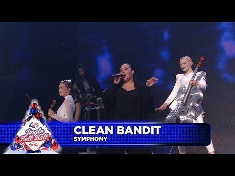 Clean Bandit - 'Symphony' FT. Zara Larsson (Live at Capital's Jingle Bell Ball)