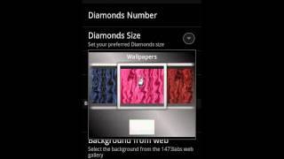 Rain of Diamonds LiveWallpaper YouTube video