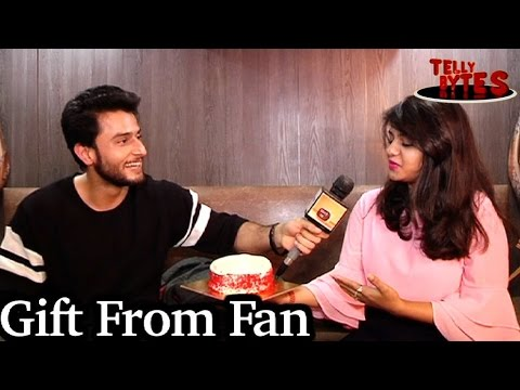 Leenesh Mattoo aka Rudras receives Gift From Fan!