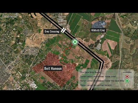 Israel zerstört weiteren Hamas-Tunnel, Kerem-Shalom-G ...