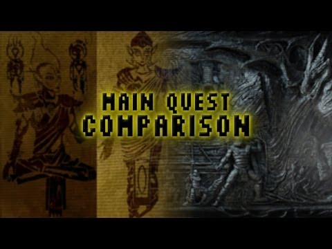 Main Quest Comparison: Skyrim & Morrowind