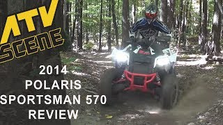 4. 2014 Polaris Sportsman 570 Review