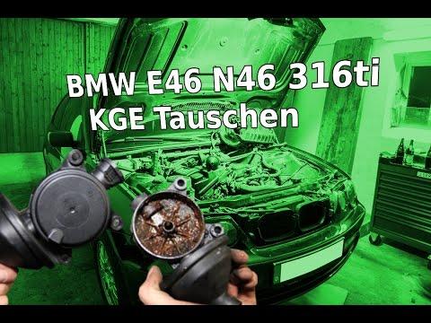 BMW E46 316ti N46 Motor KGE Tauschen