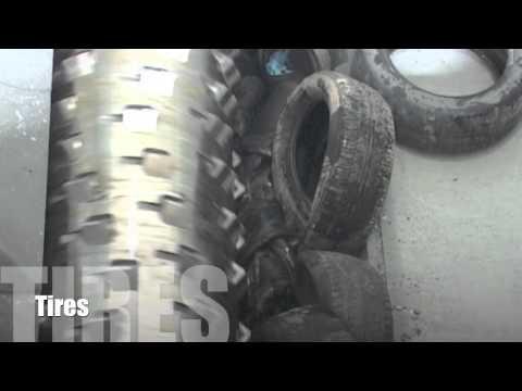 ZERMA ZXS Shredder Recycling Tyres