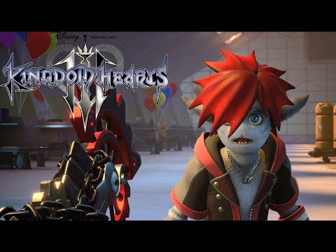 Kingdom Hearts 3 - trailer D23 2018