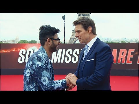 Indian Kid Meets Tom Cruise