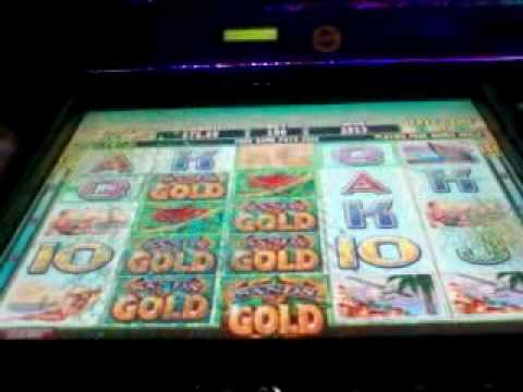 GREAT Sands of Gold (IGT) Video Slot Machine Bonus Win – 40 Free Spins!!