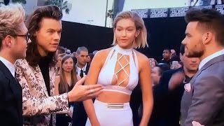 Gigi Hadid Snubs Harry Styles During 2015 AMA Interview? full download video download mp3 download music download