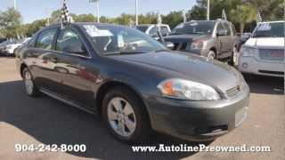 Autoline's 2010 Chevrolet Impala LT Walk Around Review Test Drive