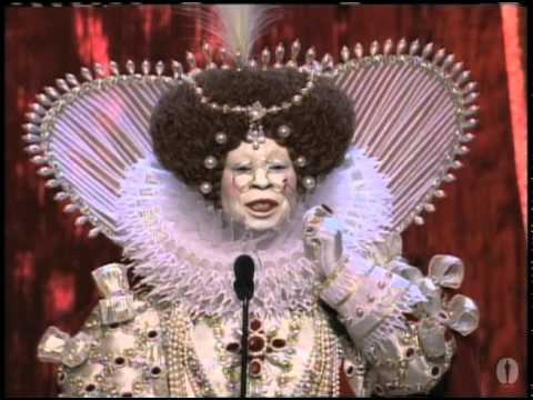 Academy Awards - Host Whoopi Goldberg's opening African Queen skit at the 71st Academy Awards in 1999.