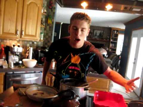 greatest freak out ever 15 - Stephen Cleans the Kitchen