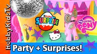 Nonton My Little Pony Dance Party  Disney Princess Kinder Egg  Hello Kitty Surprise Blind Bag Hobbykidstv Film Subtitle Indonesia Streaming Movie Download