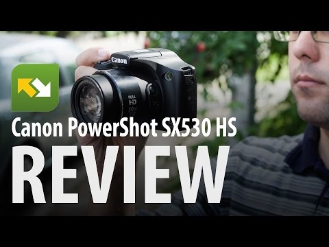 Review : Canon Powershot SX530 HS