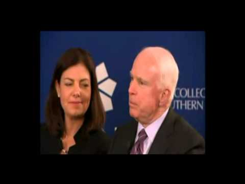 John McCain: Mitt Romney Absolutely Did Not Pay Taxes Video