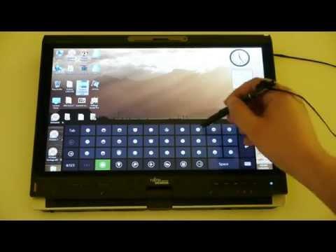 Fujitsu Lifebook T5010 - perfect AFFS Wacom tablet in Windows 8