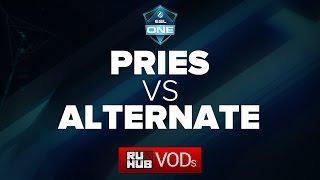 PRIES vs Alternate Attax, game 1