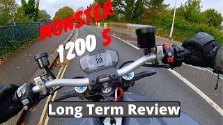 6. Ducati Monster 1200 S   Long Term Review