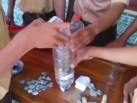 penyaring air sederhana siswa sman 2 tenggarong 2ipa2 filter air