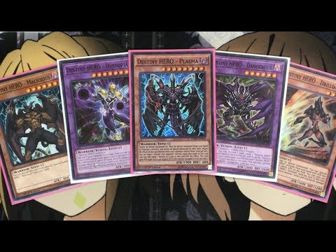 My Destiny Hero Yugioh Deck Profile for December 2018