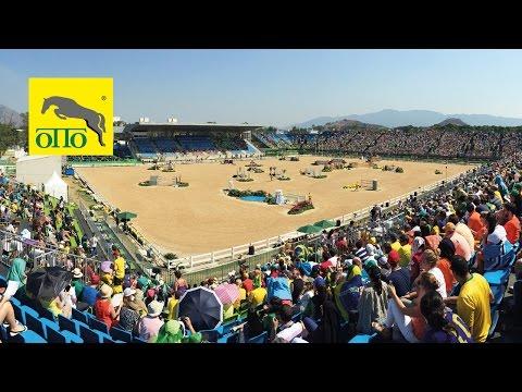 Az olimpia lovas versenyeit is OTTO talajon rendezték