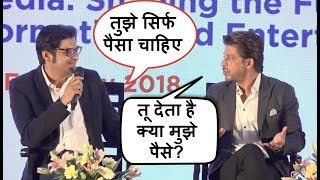 Video Shahrukh Khan FIGHTS With Arnab Goswami For INSULTING Him In Public MP3, 3GP, MP4, WEBM, AVI, FLV April 2018