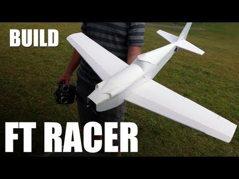 Flite Test - FT Racer (Slinger) - BUILD
