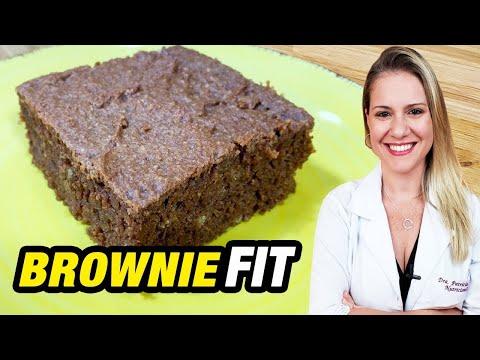 Nutricionista - Receita de Brownie Fit [FÁCIL, SAUDÁVEL e DELICIOSO]