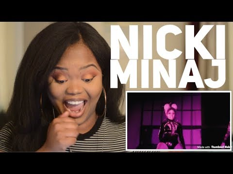 Nicki Minaj- Chun Li (Music Video Teaser) REACTION!!!