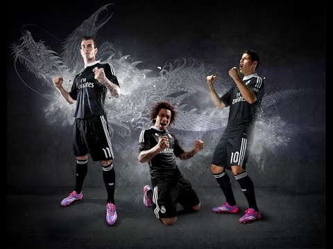 madrid - At the Santiago Bernabéu Stadium's presidential box, Real Madrid and Adidas presented the innovative strip that the Whites will wear when they defend their European champions title, a black...