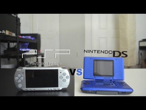 Sony PSP Vs Nintendo DS - Review