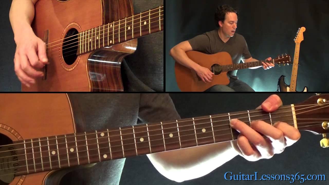 Johnny Cash – Hurt Guitar Lesson – Acoustic