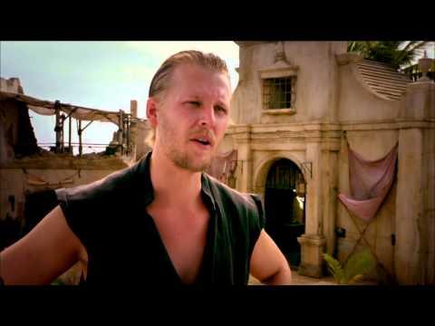 "Crossbones: David Hoflin ""Charlie Rider"" TV Series Premiere Interview | ScreenSlam"