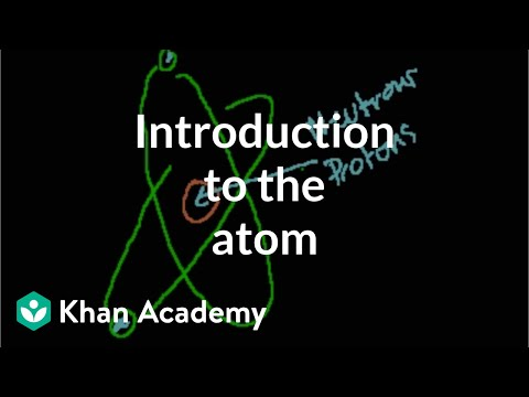 atom - Learn more: http://www.khanacademy.org/video?v=1xSQlwWGT8M The atom, proton, neutron and electron.