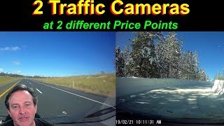 🔴Dash Cams  - two different price points, different results.