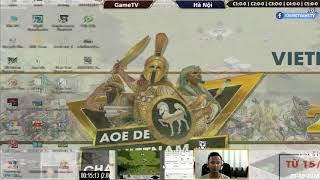 AOE | 4vs4 Random | GameTV vs Hà Nội | Ngày 23-10-2018 | BLV:G_Kami
