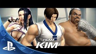 "THE KING OF FIGHTERS XIV PRESENTA AL TEAM ""KIM"""