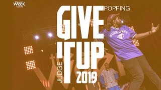 Monsta Pop – Give It Up 19 Popping Judge Demo
