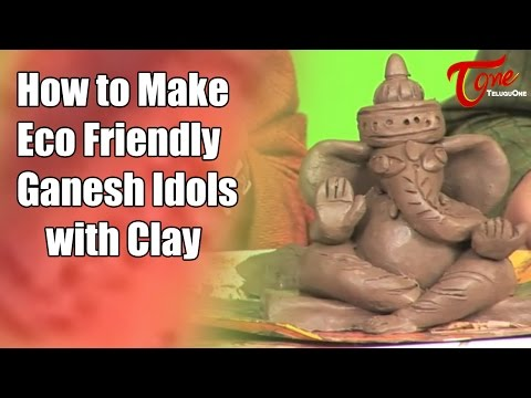 Creative Corner | How to make Eco Friendly Ganesh Idols with Clay