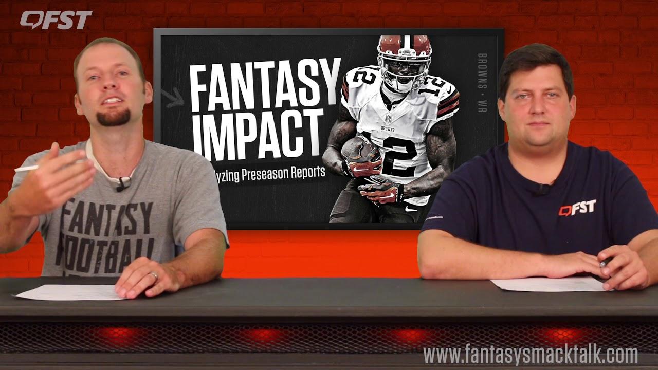 2018 Fantasy Football Analyzing Preseason Camp Reports thumbnail