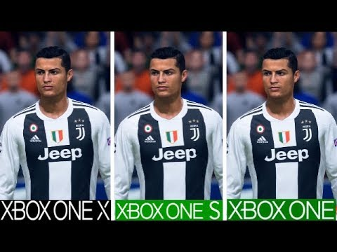FIFA 19 | Xbox One X VS Xbox One S VS Xbox One | Graphics Comparison