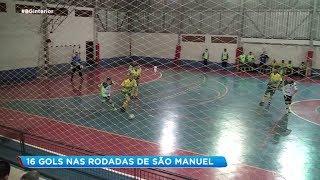 Duas partidas com muitos gols pela Copa Record de Futsal Masculino